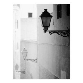 Postal Europa, España, Mallorca. Streelights, Palma