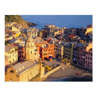 Postal Europa, Italia, Cinque Terre. Pueblo de Vernazza