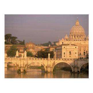 Postal Europa, Italia, Roma, el Vatican. Basílica San
