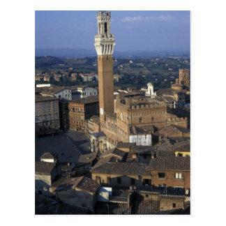 Postal Europa, Italia, Siena. Descripción de la ciudad