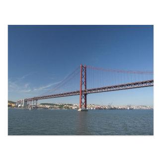 Postal Europa, Portugal, Lisboa aka Lisboa). Ponte