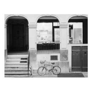 Postal Europa, Suiza, Berna. Edificio de Kramgasse