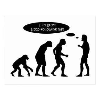 Postal Evolución divertida
