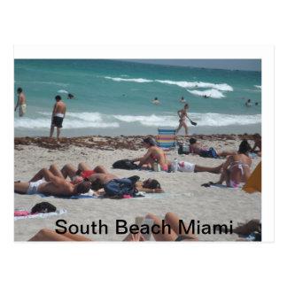 Postal Excursión de la playa de las vacaciones de