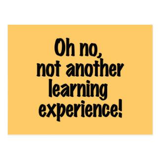 Postal Experiencia de aprendizaje