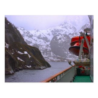 Postal Explorador intrépido, viaje noruego