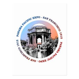 Postal Expo de San Francisco Panamá el Pacífico