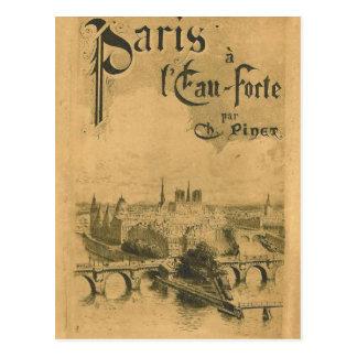 Postal Exposición 1900 de París