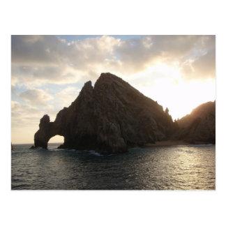 Postal Extremo Cabo San Lucas de las tierras