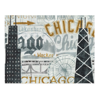 Postal Ey vintage de Chicago