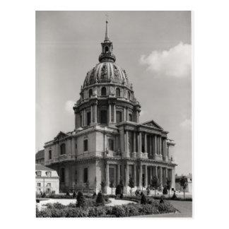 Postal Fachada de la iglesia de St. Louis