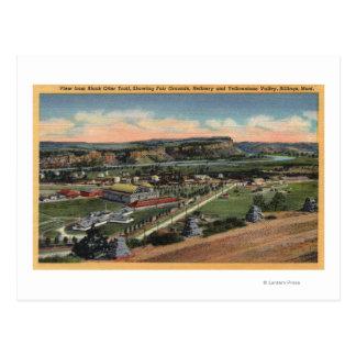 Postal Facturaciones, Montana - rastro negro de la nutria