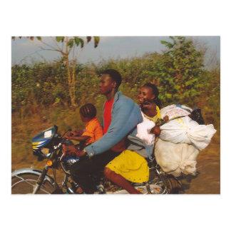 Postal Familia nigeriana