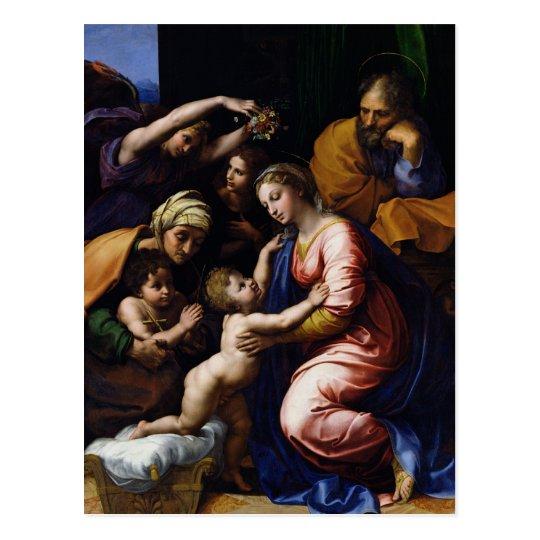 Postal Familia santa, 1518
