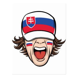 Postal Fan de deportes eslovaca