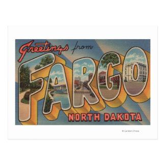 Postal Fargo, Dakota del Norte - escenas grandes de la