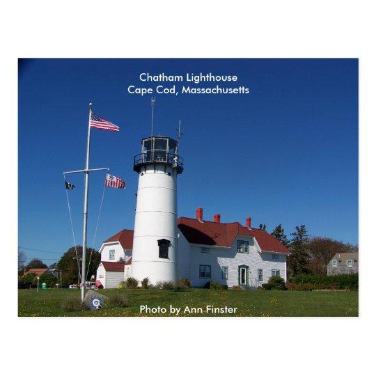 Postal/faro Cape Cod de Chatham Postal