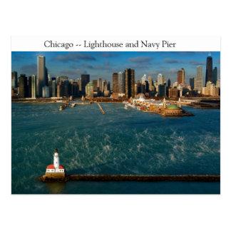 Postal Faro de Chicago