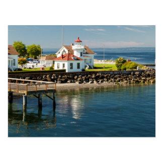 Postal Faro de Mukilteo, Mukilteo, Washington, los