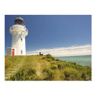 Postal Faro del este del cabo, Eastland, Nueva Zelanda
