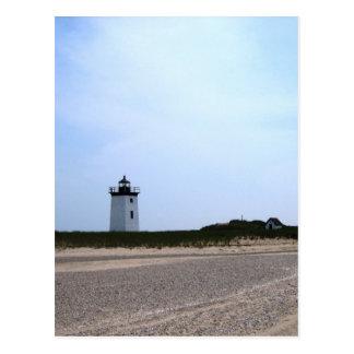 Postal Faro del extremo de maderas - Provincetown, mA