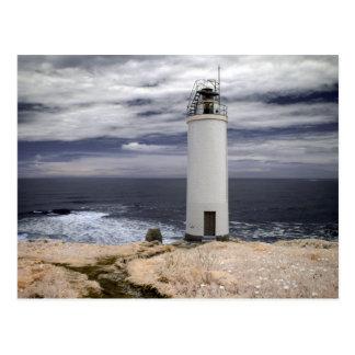 Postal Faro el | Galicia, España de Laxe