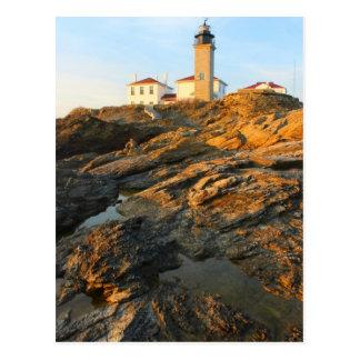 Postal Faro Jamestown Rhode Island de Beavertail