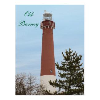 Postal Faro viejo NJ de Barney
