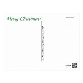 Postal ¡Felices Navidad!  (- ninguna dirección)
