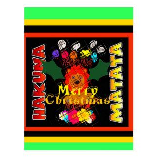 Postal Felices Navidad y una Feliz Año Nuevo