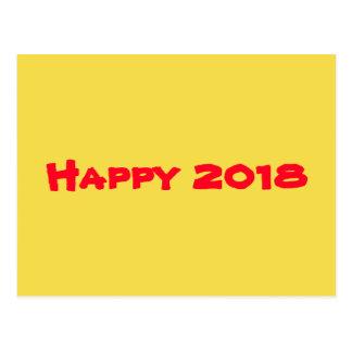 Postal Feliz Año Nuevo 2018