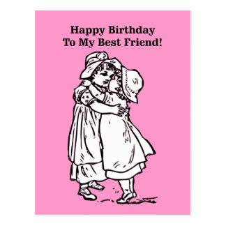 Postal ¡Feliz cumpleaños a mi mejor amigo!
