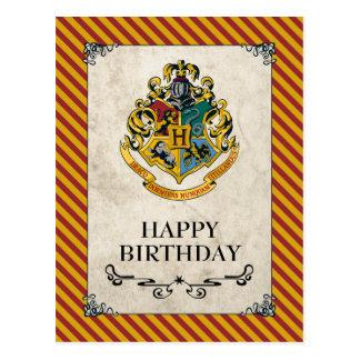Postal Feliz cumpleaños de Harry Potter el | Hogwarts