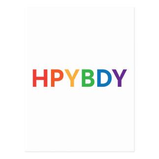 Postal Feliz cumpleaños: Texting
