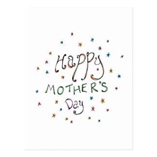 Postal feliz del Doodle del día de madre