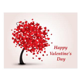 Postal feliz del el día de San Valentín
