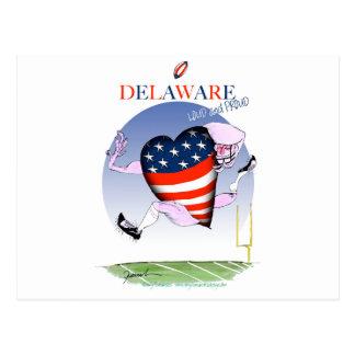 Postal fernandes tony ruidosos y orgullosos de Delaware,