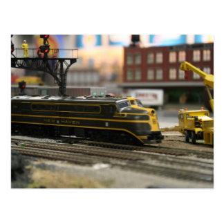 Postal ferrocarril dl-109 de New Haven