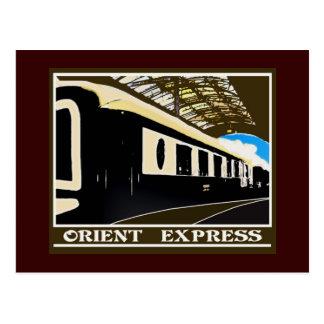 Postal ferroviaria clásica expresa de Oriente