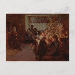 Postal Festiva El árbol de navidad, 1911