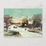 Postal Festiva Nochebuena 1898