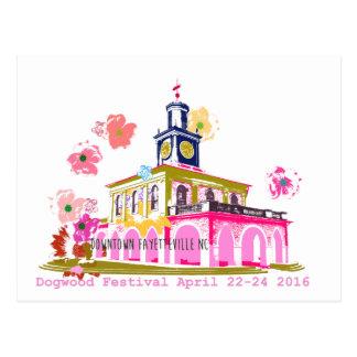 Postal Festival 2016 Fayetteville céntrico NC del Dogwood