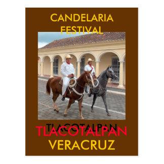 POSTAL FESTIVAL DE CANDELARIA
