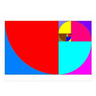 Postal Fibonacci espiral