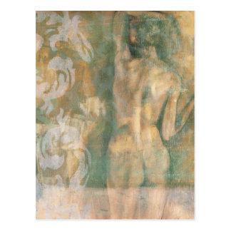 Postal Figura femenina desnuda de Jennifer Goldberger