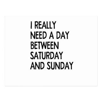 Postal fin de semana