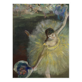 Postal Final de un Arabesque, 1877 de Edgar Degas el |