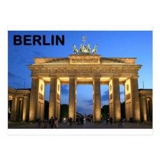 Postal Fines anormales del Tor de Alemania Berlín