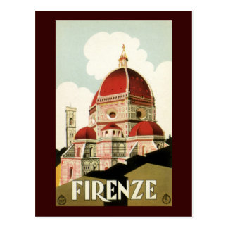 Postal Firenze