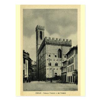 Postal Firenze Palazzio Pretorio 1